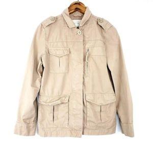 J Crew Jacket Classic Twill Chino Field Size 2